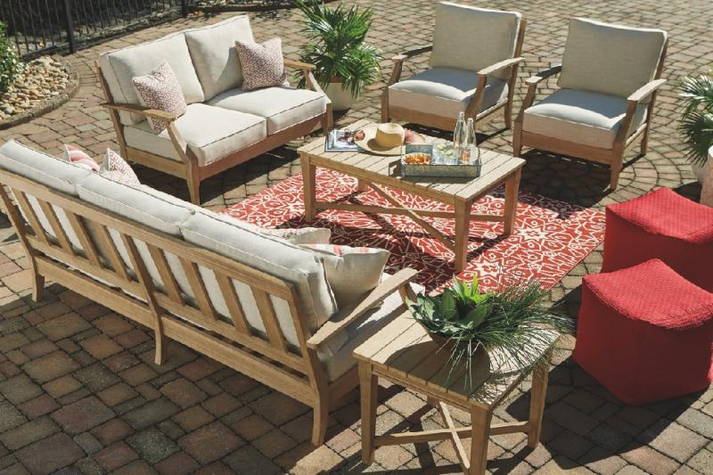 Commercial Interiors Ocean View Outdoor Furniture Collection